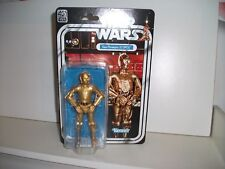 "star wars 40th Anniversary C-3PO black series 6"" INCH moc postage discount NEW"
