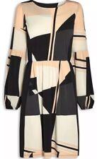 NEXT Black Print Dress Size 8