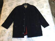 Black Wool Park House Men's Designer Coat