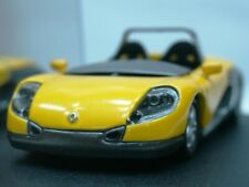 WOW EXTREMELY RARE Renault Sport Spider Geneve 1996 Yellow 1:43 Vitesse-Spark