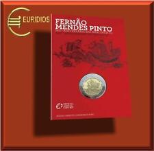 "2 Euro Gedenkmünze Portugal 2011 "" Pinto "" BU, in CoinCard"