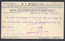 UX18 USED 1905 BUYING TUBS BOXES KEGS, BARRELS WON GOLD MEDAL IN PARIS 1900 NH