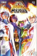 BATTLE OF THE PLANETS MANGA # 2 Fi/VF (Top Cow, 2003) original Comic Book