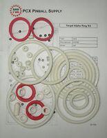 1976 Gottlieb Target Alpha Pinball Rubber Ring Kit