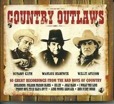 COUNTRY OUTLAWS - 3 CD BOX SET JOLE BLON * CRAZY & MORE