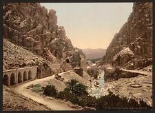 The Ravine Iii El Cantara A4 Photo Print