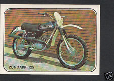 Panini Sticker -  Moto Sport 1979 Sticker No 323 - Zundapp 125
