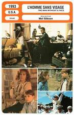 FICHE CINEMA : L'HOMME SANS VISAGE - Gibson,Stahl 1993 The Man Without A Face