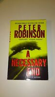Peter Robinson - A Necessary End (Anglais)