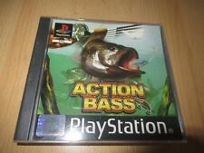 Action Bass  Playstation1  ps1 mint collectors pal
