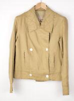 Marlboro Classics Damen Leinen Mantel Jacke Größe XXL AOZ869