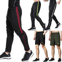 Men Sport Pants Casual Trousers Fitness Shorts Workout Jogger Gym Sweatpants US