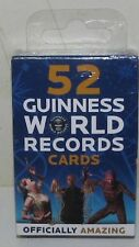 52 GUINNESS WORLD RECORD CARDS – NEW