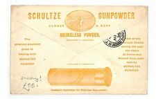 AK48 1896 GB Stirling Shultze Gunpowder Advertising Cover