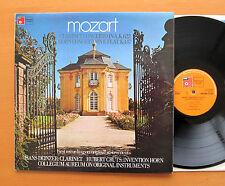 Mozart Clarinet Horn Concerto Collgeium Aureum Harmonia Mundi BAC 3001 NEAR MINT