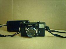 Vintage Konica C35 AF Film Camera with Electronic Flash