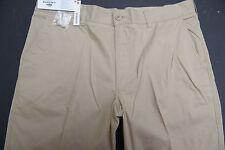 NWT Lacoste Men's Regular Fit Khaki Cotton Casual Pants Big & Tall W50 L32 EU 62