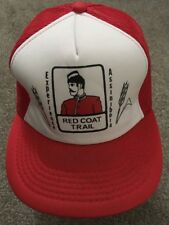 Canadian Red Coat Trail SnapBack Trucker Hat - Unused