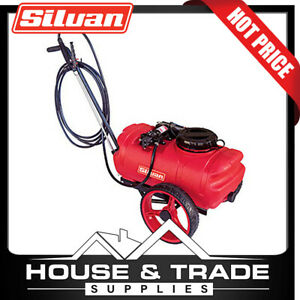 Silvan Trolley Sprayer Rechargeable 25L RedLine SP25-TR2