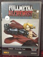 FullMetal Alchemist N. 1 Eps 1/5 DVD Edward e Alphonse Elric Ex Noleggio N