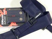 DiMarzio DD2200 Cliplock Nylon Quick Release Straps in BLACK