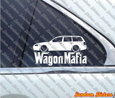 Lowered WAGON MAFIA sticker - for VW Passat B5.5 (b5 facelift) VAG variant kombi