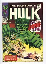 Incredible Hulk #102 Vol 1 Near Perfect High Grade Origin of Hulk Retold 1968