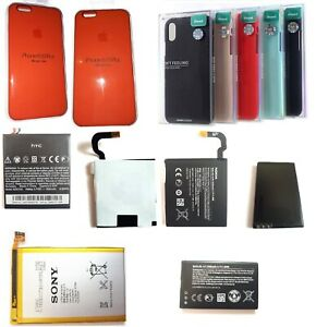 Genuine Mobile Phone Internal Battery Cases Sony Nokia HTC Apple Stock Clearance