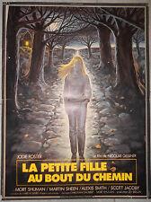 Affiche LA PETITE FILLE AU BOUT DU CHEMIN Nicolas Gessner JODIE FOSTER 40x60cm