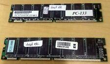 RAM 64MB PC133 133MHz 168-PIN DIMM MEMORY RAM KIT FOR DESKTOP PCS