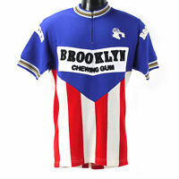 Brooklyn merino wool cycling jersey with chain stitching - Eroica
