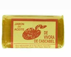 JABON DE ACEITE DE VIVORA DE CASCABEL. Rattlesnake Soap for Acne Rashes Vibora