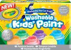 Washable Kids Paint, Crayola Washable Metallic Paint Set, 2-Ounce, 6 Count