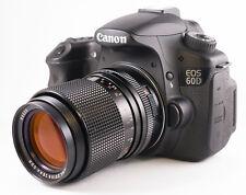 Canon EF EOS Fit Carl Zeiss Jena DDR MC F/3.5 135mm Telephoto Portrait Lens