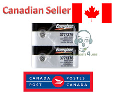 Energizer 377/376 Silver Oxide 1.55 Lithium Watch Button Cell Pack - 2 Batteries