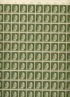 Stamp Germany Mi 794 Sc 519 Sheet 1941 WWII War War Era Hitler MNH F