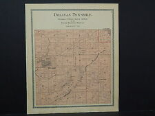 Wisconsin, Walworth County Map, 1900, Delavan Township W19#89