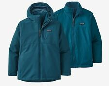 NEW Patagonia 4 In 1 Everyday Jacket + Zip In Shearling Fleece Boys Small (7-8)