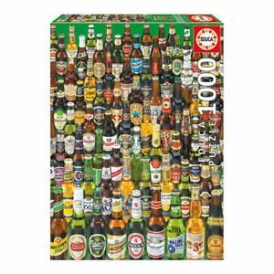 Beer Bottles ~ 1000 Piece Educa Jigsaw Puzzle