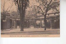 Gate of '87-'88 Classes Harvard University Cambridge MA  Mass