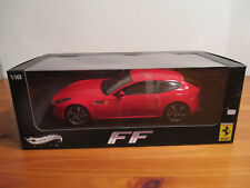 (Van) 1:18 hot wheels elite caja original nuevo Ferrari FF