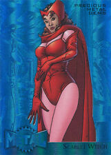 Marvel Fleer Retro 2015 Precious Metal Gems Blue Scarlet Witch #50/50