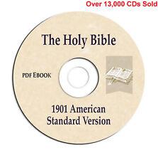 1901 American Standard Bible Version (ASV)-Christian Scripture Study-CD eBook
