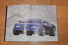 !! Prospekt Bugatti EB 18/3 CHIRON, SEHR SCHÖN, selten (deutsch) !!
