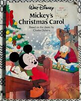 Mickeys Christmas Carol paper back