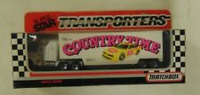 Matchbox ~ 1992 Super Star Transporters ~ #68 BOBBY HAMILTON COUNTRY TIME
