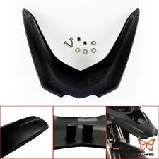 Black Front Beak Fender Wheel Cover Cowl For BMW R1200GS LC Adventure 13-16 BID
