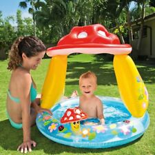 Intex Mushroom Baby Inflatable Pool Summer Sea Swim Water Beach Kids Fun