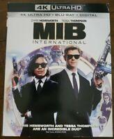 MIB International (4K Ultra HD + Blu Ray + Digital Code) w/Slipcover