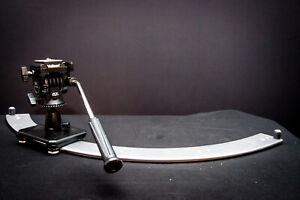 Kamera-Slider 85 cm 1/3 Kreis * Dolly * Kameraschiene mit Stativkopf